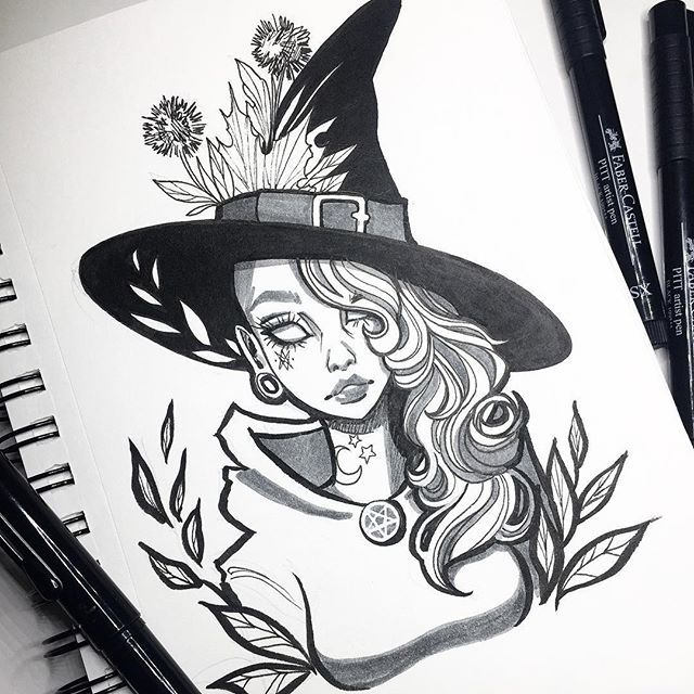 Drawn witchcraft creepy witch 25+ witch Best on ideas