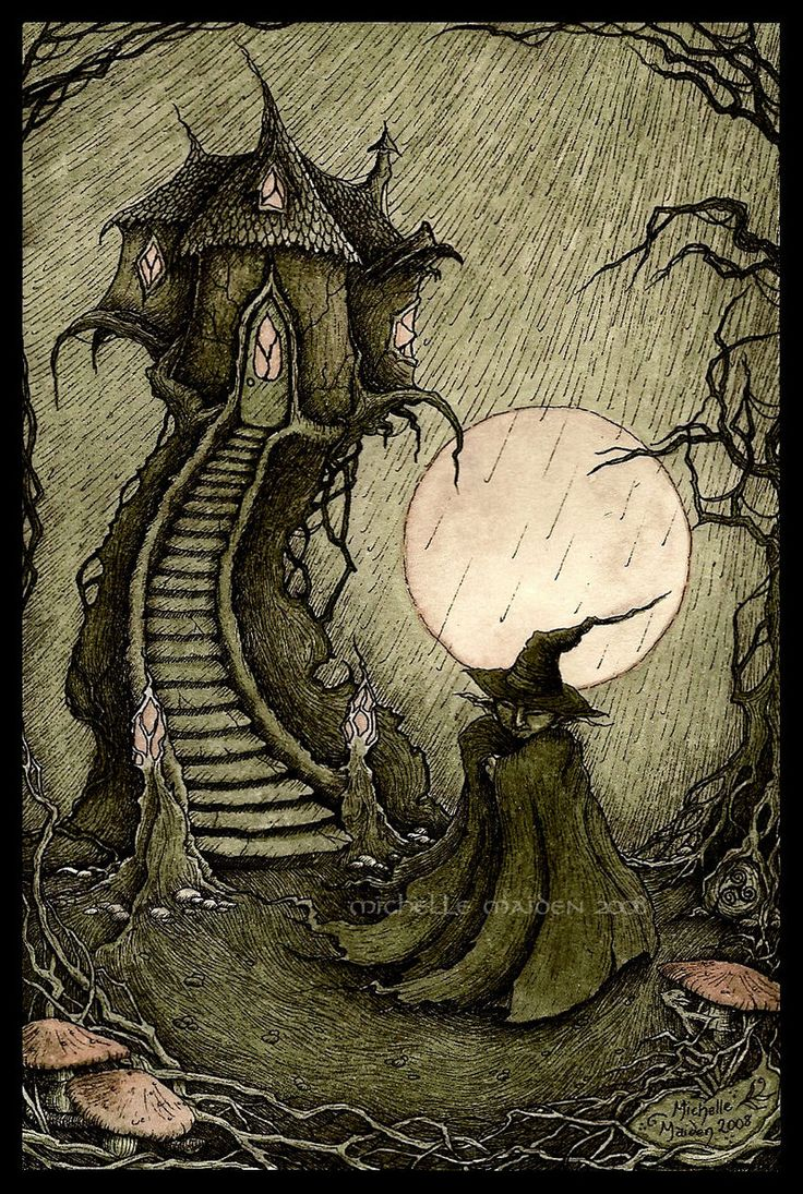 Drawn witchcraft creepy witch And this Pin 313 Pinterest