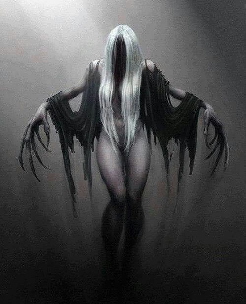 Drawn witchcraft dark creature Witches Pinterest best images wizards