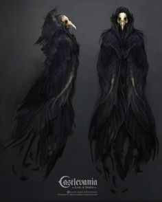 Drawn witchcraft dark creature Of concept Entertainment castlevania for