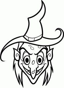 Drawn witchcraft easy Witch witch witch's cartoon draw