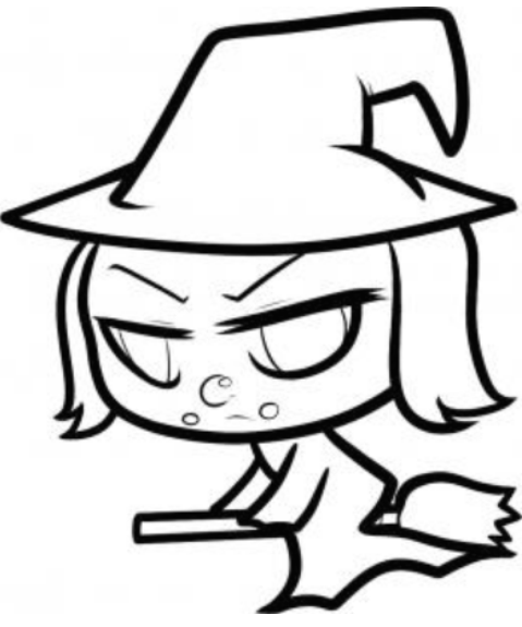 Drawn witchcraft easy Anime to Magic How Draw
