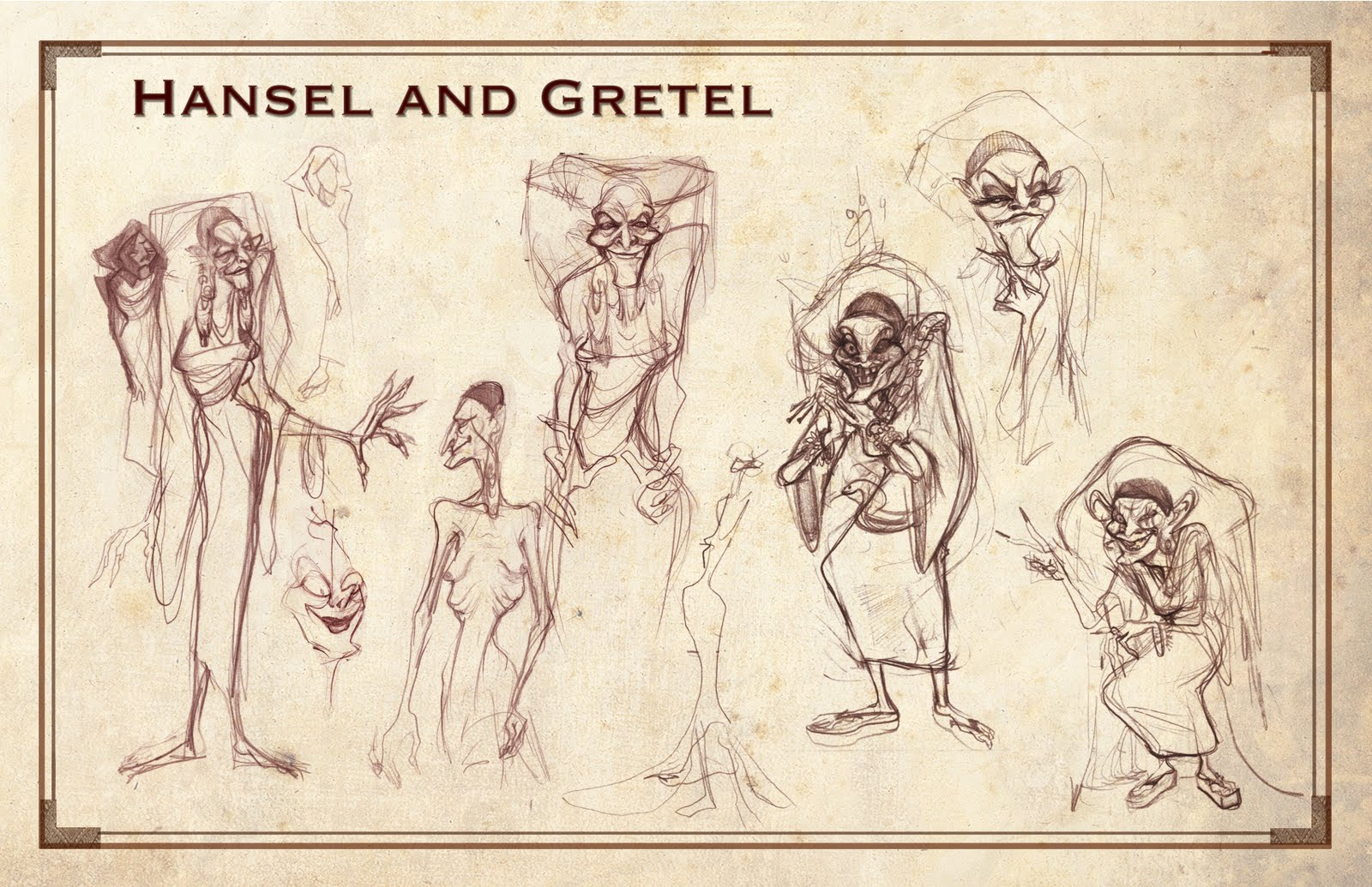 Drawn witchcraft hansel and gretel The Sangeun and Gretel the