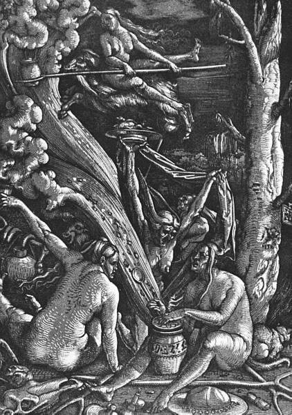 Drawn witchcraft jahsonic Microblog witches Baldung Hans Grien's