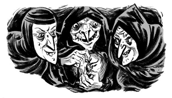 Drawn witchcraft macbeth UpStage Macbeth at Macbeth 02