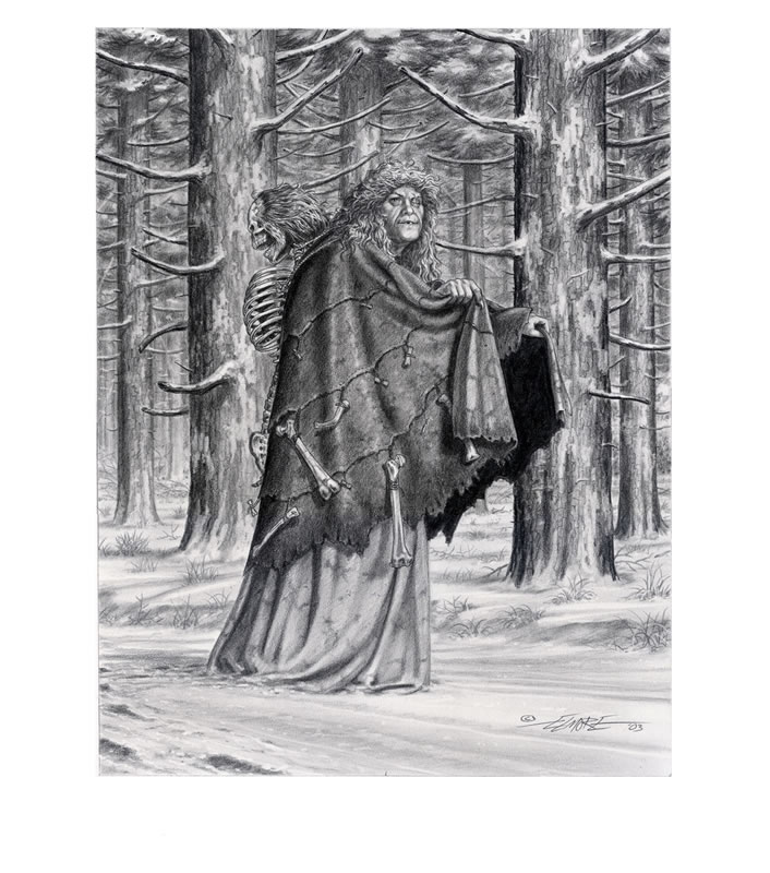 Drawn witchcraft old witch  Elmore Old Old Elmore