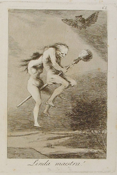 Drawn witchcraft old witch Album Witches Linda Goya: and