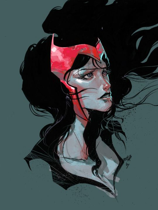 Drawn witchcraft scarlet witch The images #marvel Witch Scarlet