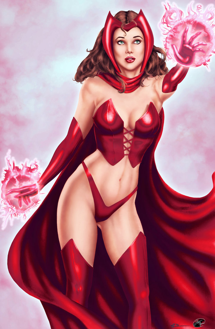 Drawn witchcraft scarlet witch Scarlet deviantART by WOMEN