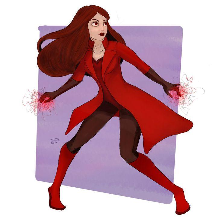 Drawn witchcraft scarlet witch Scarlet images direwxlfs by Wanda