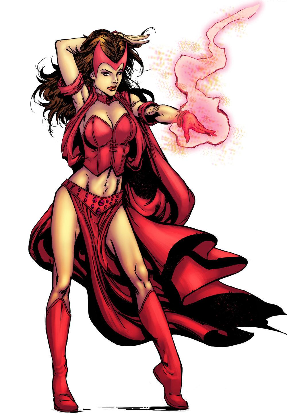 Drawn witchcraft scarlet witch Scarlet Scarlet Witch Scarlet Witches