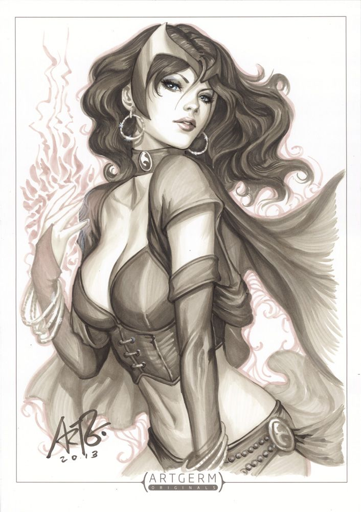 Drawn witchcraft scarlet witch Nice Witch images you best