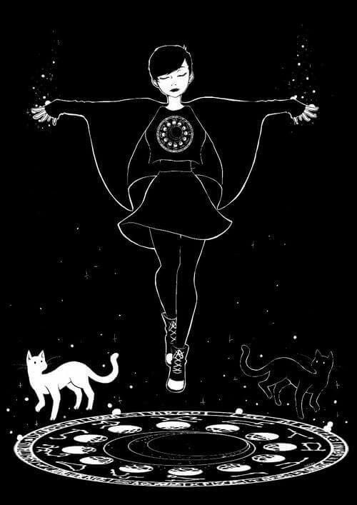 Drawn witchcraft simple On drawing como Pinterest mis