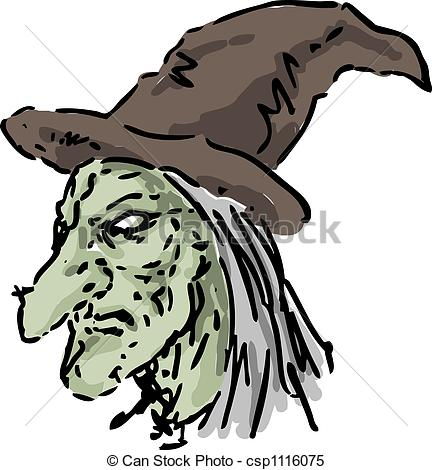 Witch clipart hideous Ugly Illustrations nose hat witch