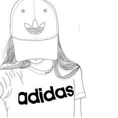 Adidas clipart tumblr adidas Drawing and art  art