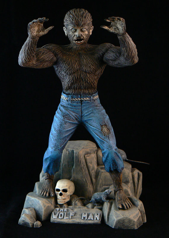 Drawn wolfman 28mm Aurora The News Aurora Toys