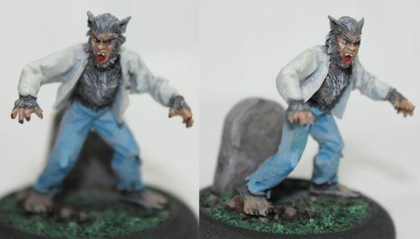 Drawn wolfman 28mm Bark the and stuff: a