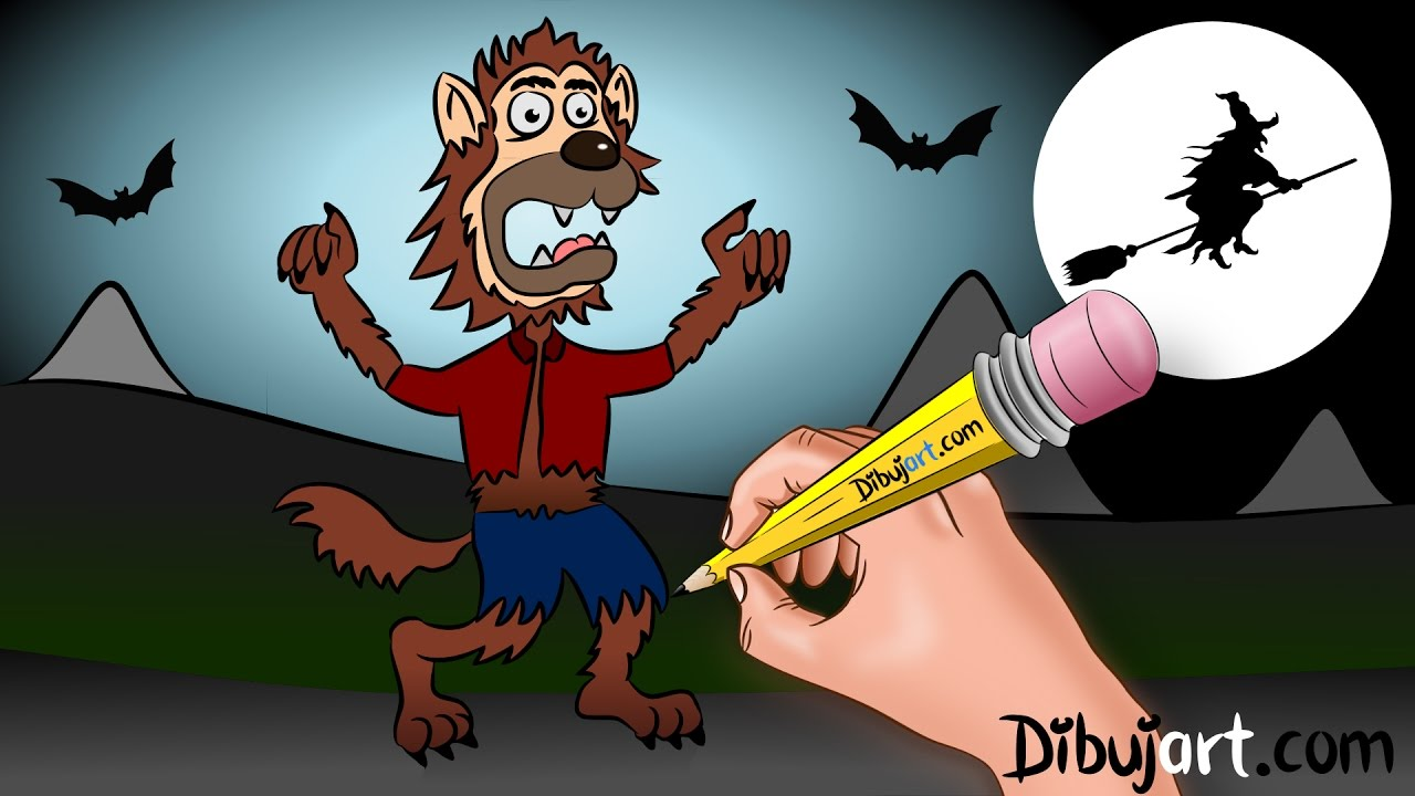 Drawn wolfman 28mm A Special Halloween How draw