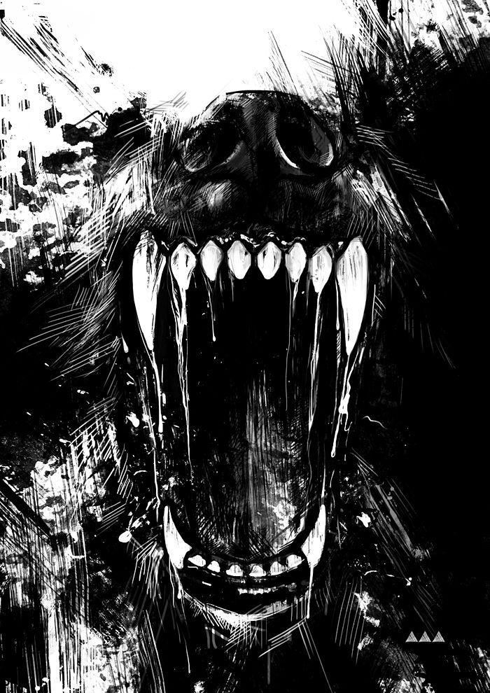 Drawn wolfman bear This o and Lupi o