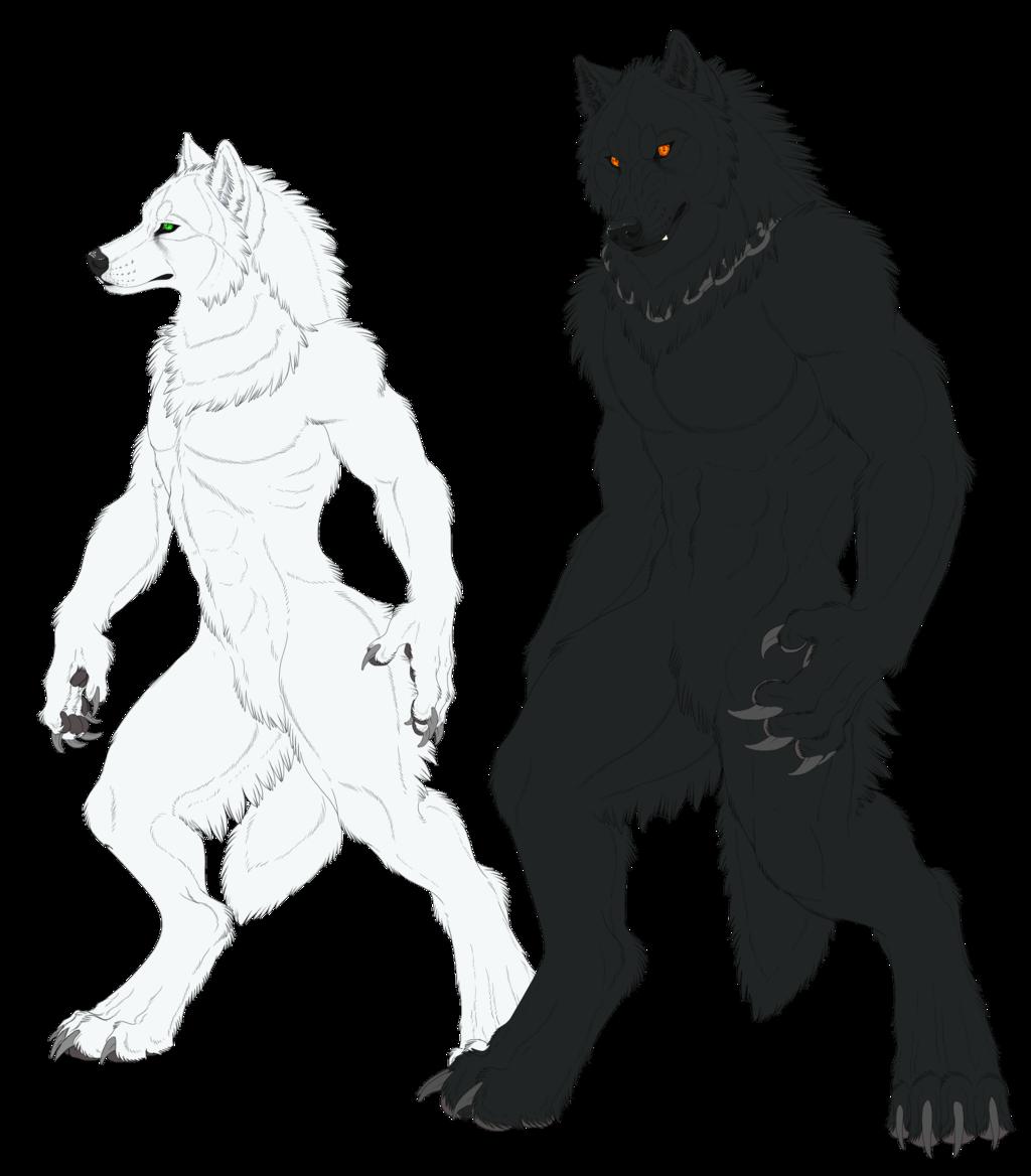 Drawn wolfman bear The by com Were deviantart