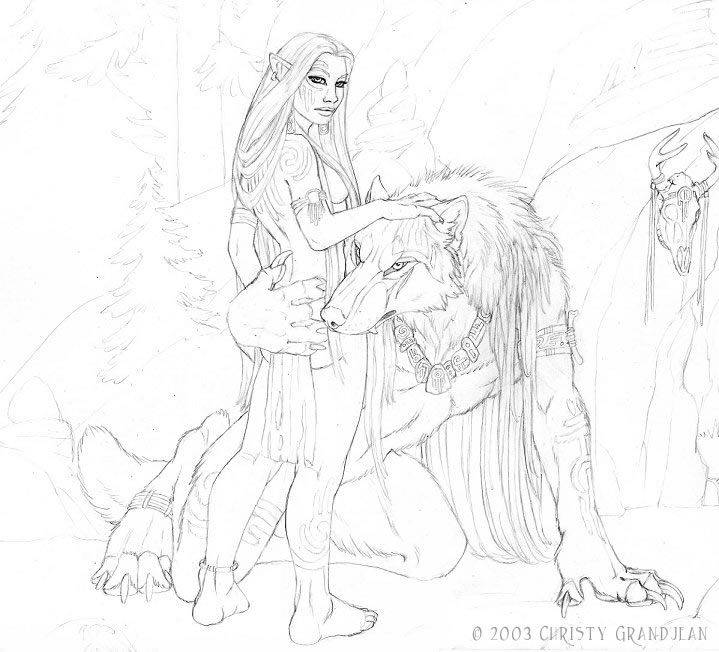 Drawn wolfman buff body Images werewolf on 525 best