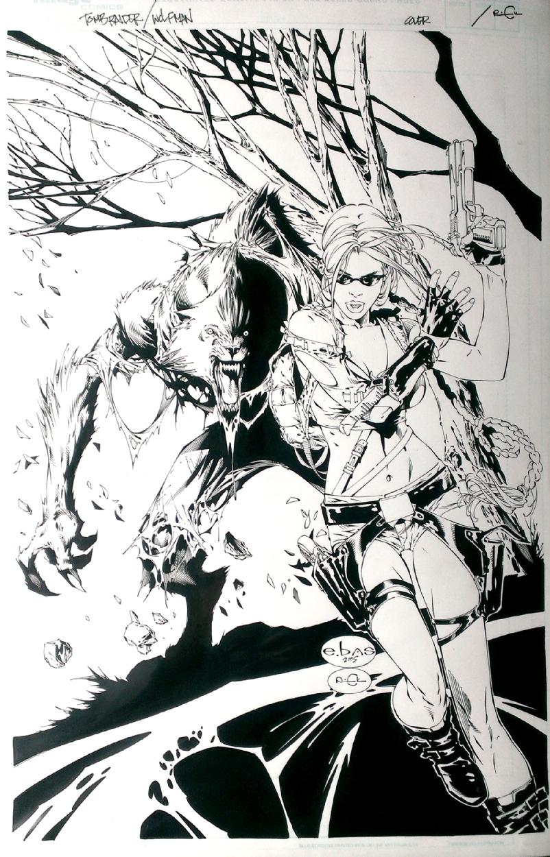 Drawn wolfman comic 2 War Monster in