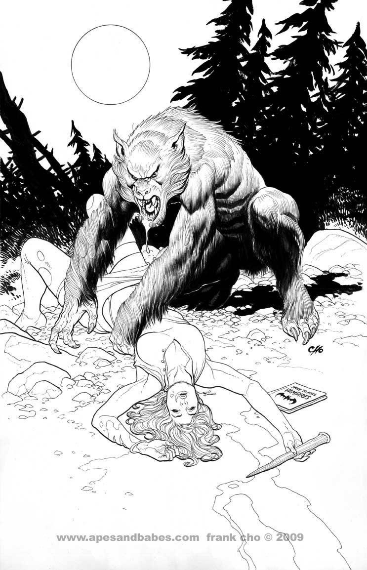 Drawn wolfman comic  Today Jason Art: Howard
