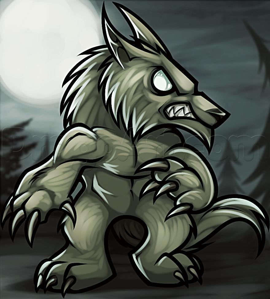 Drawn wolfman dragoart How Chibi a Draw chibi