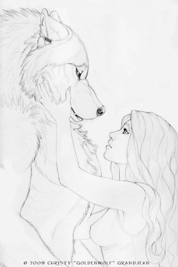 Drawn wolfman dragon eye My  Were deviantart In