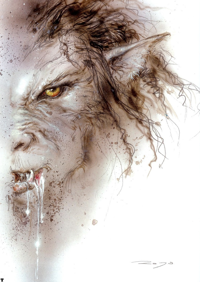 Drawn wolfman dragon eye Images Pinterest  about best