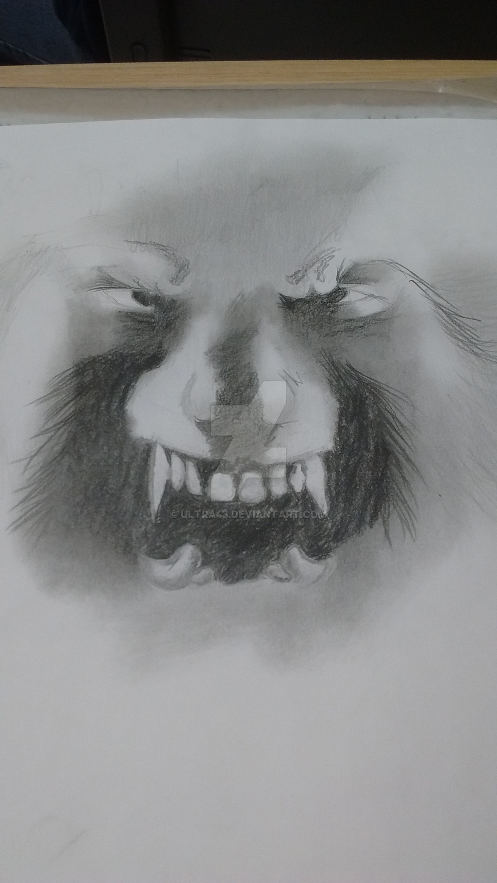 Drawn wolfman eye Ultra43 The by ultra43 by