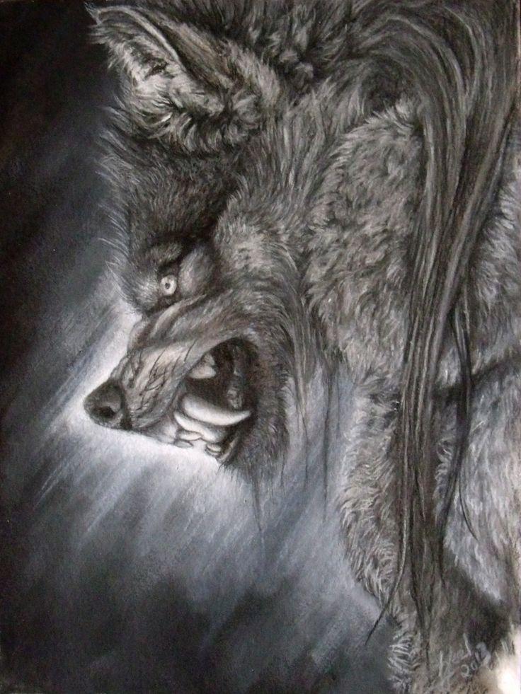 Drawn wolfman eye Best  deviantart @DeviantArt on