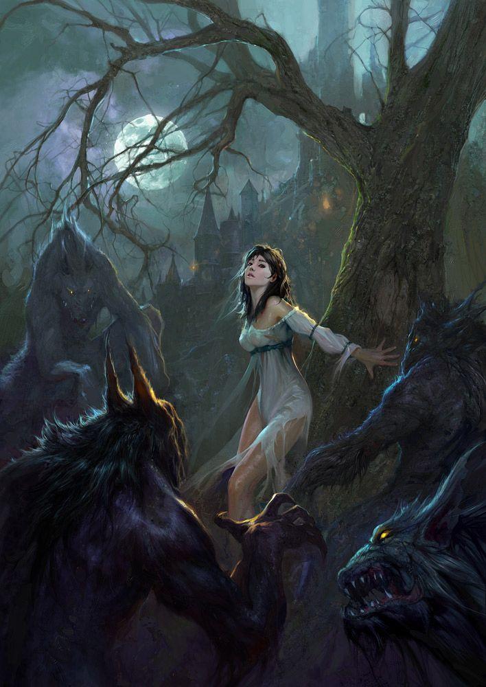 Drawn wolfman female werewolf Collection TRANSFORMATION & Best Art