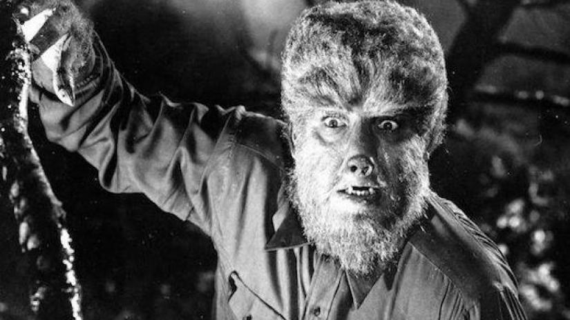 Drawn wolfman first And  all most Man