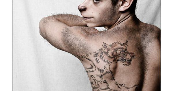 Drawn wolfman half human Of Animal Human Womanimal: Half