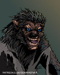 Drawn wolfman hellboy WOLFMAN THE Pinterest Posts of