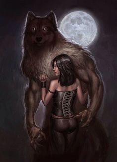 Drawn wolfman human love The I make to To
