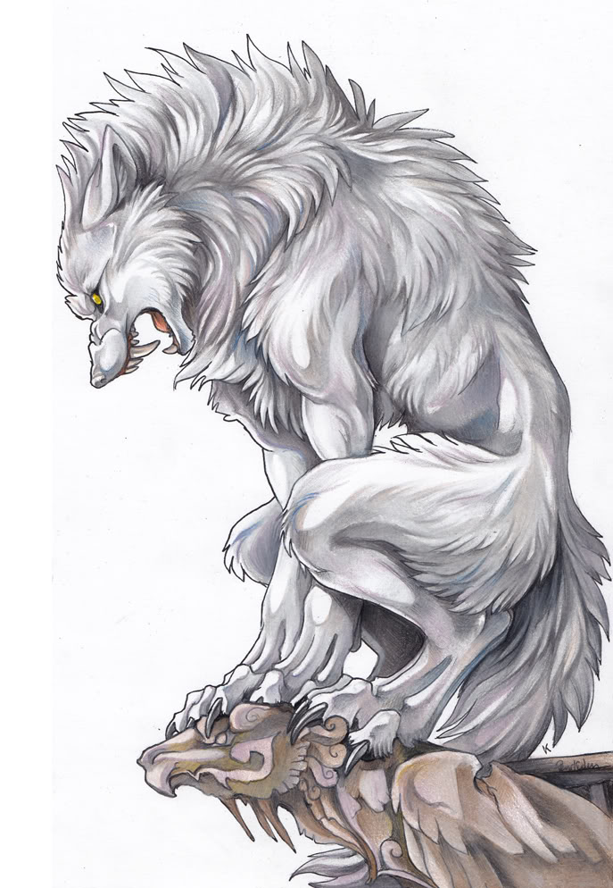 Drawn wolfman human love Vampires (Wolf IMG] Rp Open