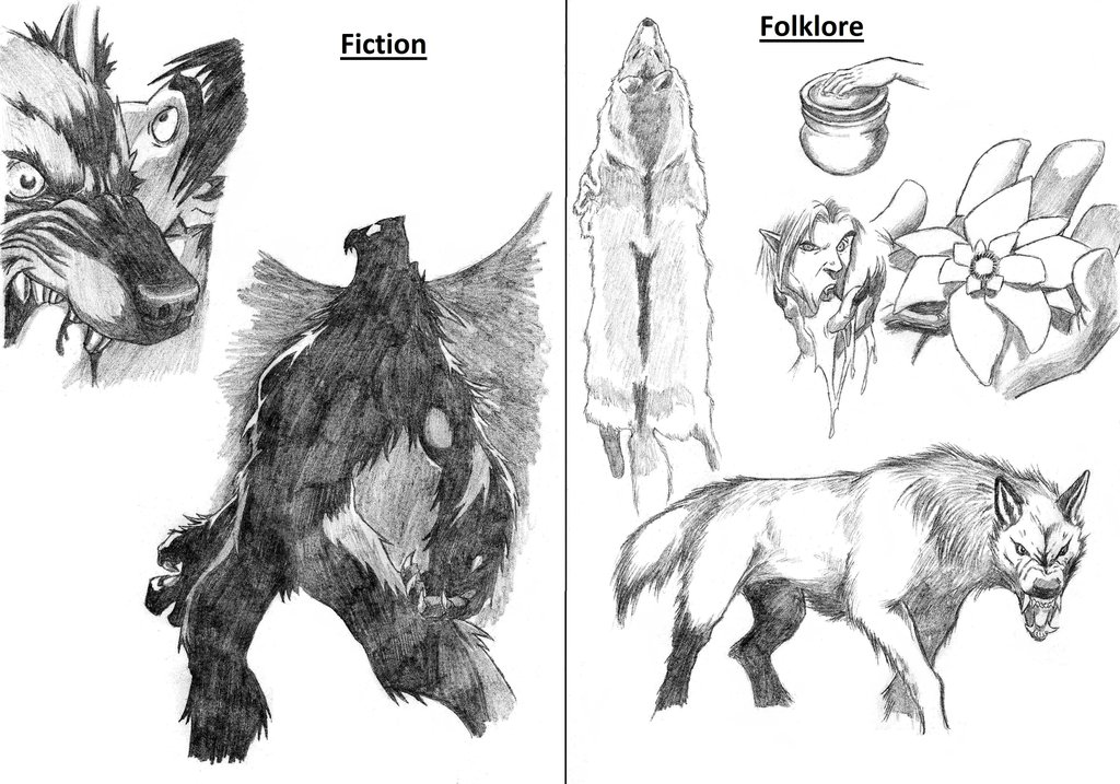 Drawn wolfman human love In Werewolf and Asanbonsam Asanbonsam