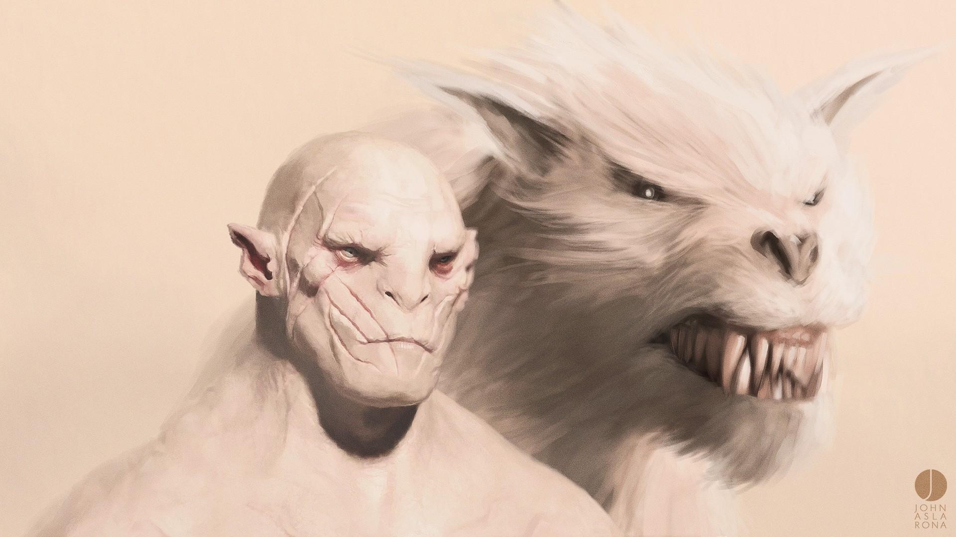 Drawn wolfman i am Werewolf  Hobbit Hobbit Monsters