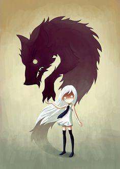 Drawn wolfman i am Bear deviantART my defense *laughs*