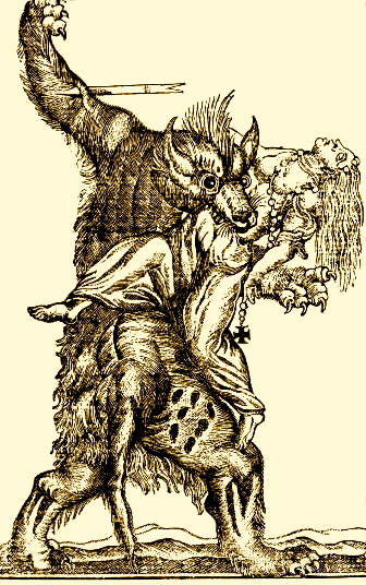 Drawn wolfman irish  The Werewolf Living Celtic