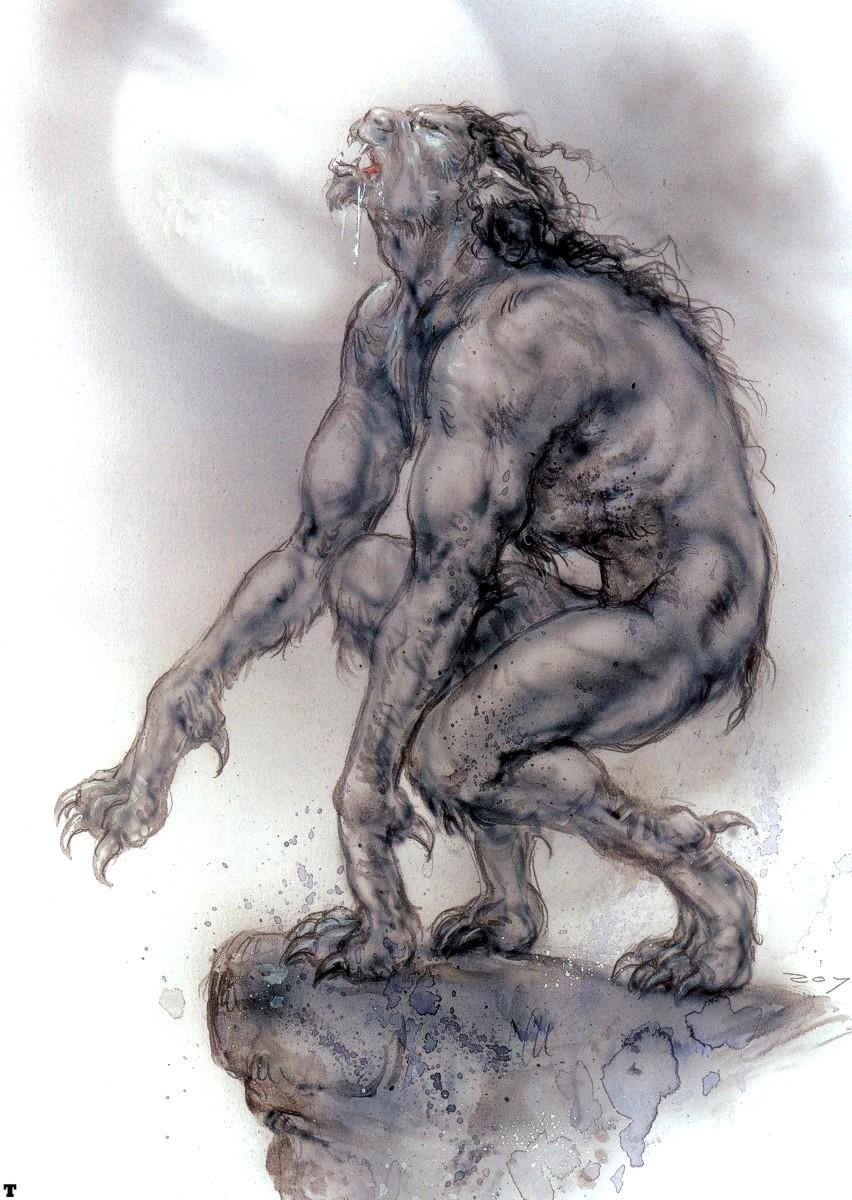 Drawn wolfman irish Loup The and Eric