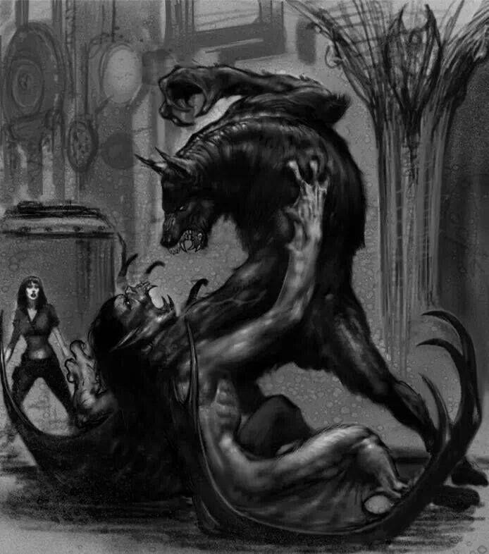 Drawn wolfman love <3 the 735 love best