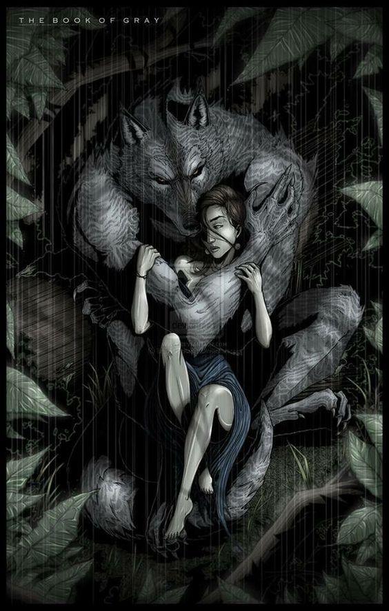 Drawn wolfman love  #werewolf #werewolf kiddo #werewolves