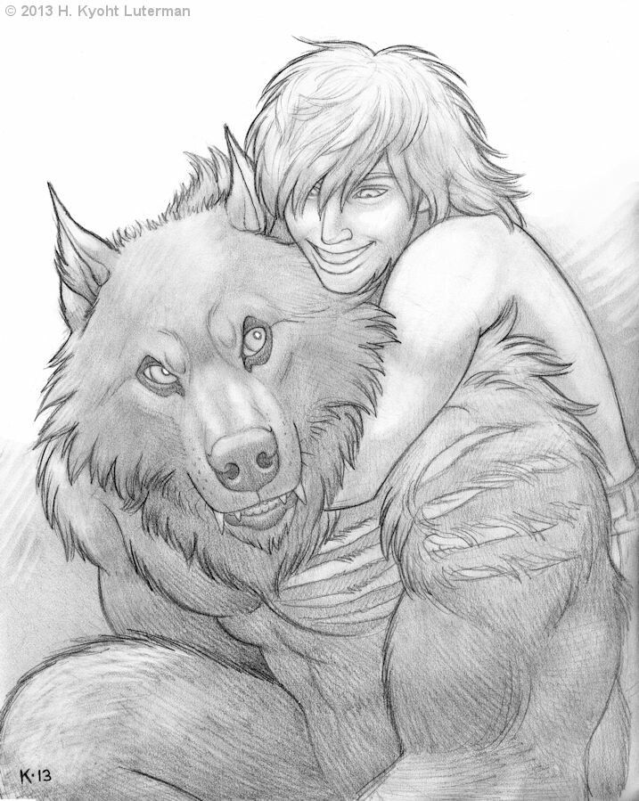 Drawn wolfman love 1001 Pinterest Love images on