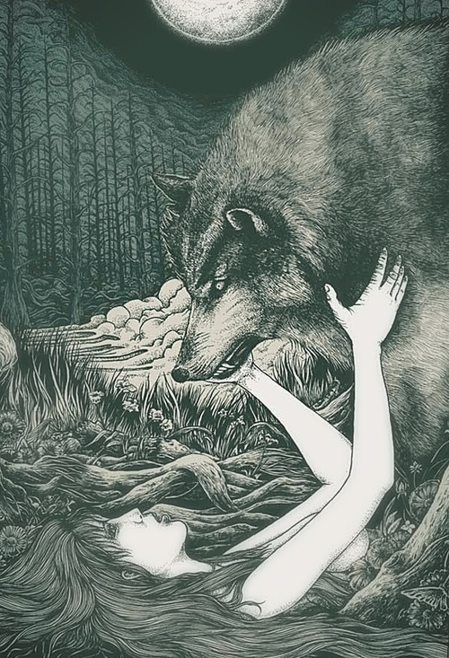 "Drawn wolfman love "" I Yes "" my"