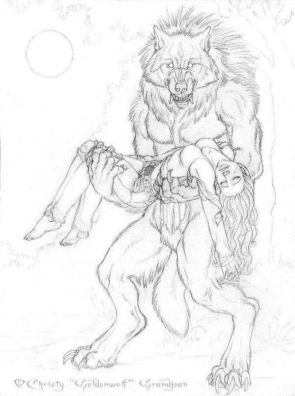Drawn wolfman love On about the 26 for