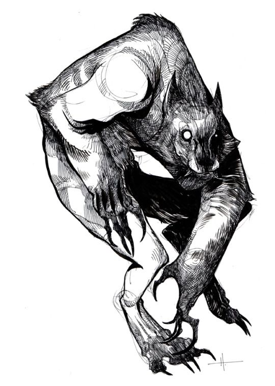 Drawn wolfman mechanical On and best Pin Pinterest