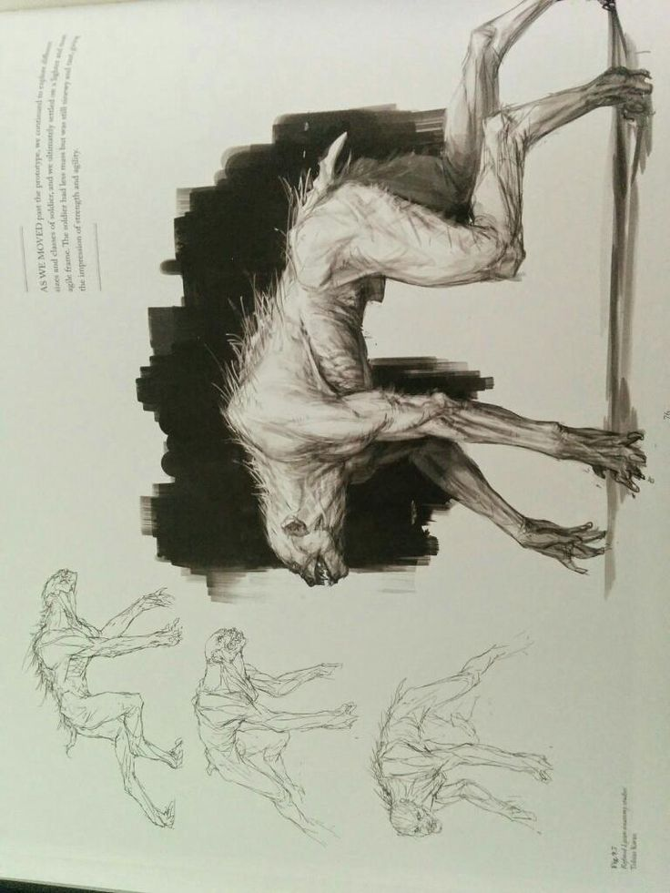 Drawn wolfman mechanical Images on Blackwater